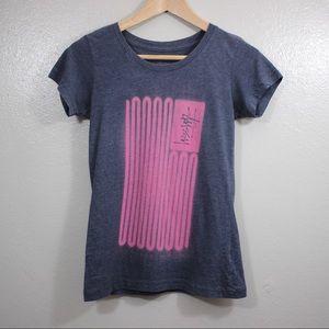 Stussy Logo Graphic T-Shirt Short Sleeve XSmall